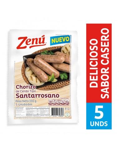 CHORIZO ZENU SANTARROSANO PQ330GR