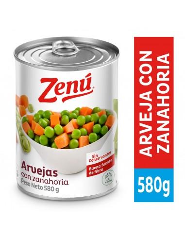 ARVEJA C/ZANAHORIA ZENU LT580G